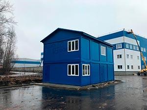 Конструкция модульных зданий